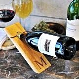 Personalized Counter Balance Wine Bottle Holder