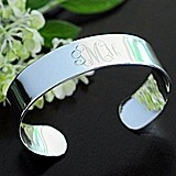 Cathy's Concepts Personalized Wide Cuff Bracelet