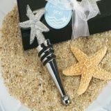 Cassiani Collection Chrome Starfish Design Wine Stopper