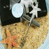Cassiani Collection Chrome Starfish Design Wine Opener