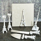 Elegant White Paris Collection Accessory Set