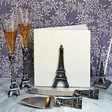 Stunning Silver Paris Collection Accessory Set