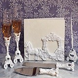 Enchanted White Wedding Coach Accessory Set