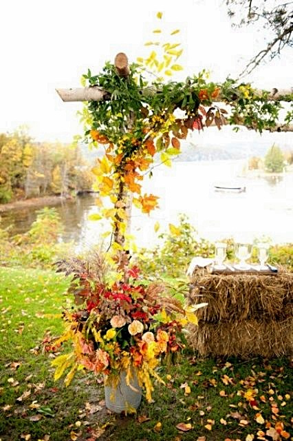 Whimsical Outdoor Fall Wedding Ideas | Party Favor Source
